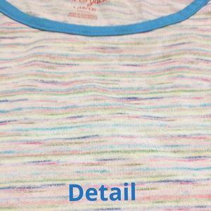 Cat & Jack Bottoms - Size 10/12 Rainbow romper / jumpsuit